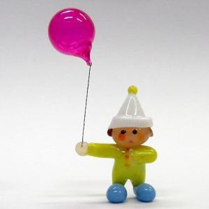 フーセン坊や 世界の子どもたち ガラス細工 雑貨 置物|enoshimahook