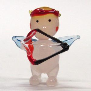 キューピッド 結婚祝い ガラス細工 雑貨 置物|enoshimahook