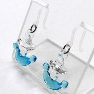 錨(いかり) ガラス細工 雑貨 ピアス|enoshimahook|04