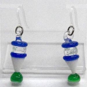 江の島シーキャンドル 畜光タイプ ガラス細工 雑貨 ピアス|enoshimahook