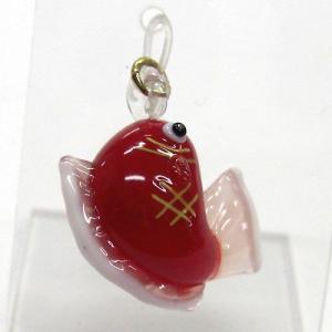 お正月のピアス 鯛 ガラス細工 雑貨 アクセサリー|enoshimahook