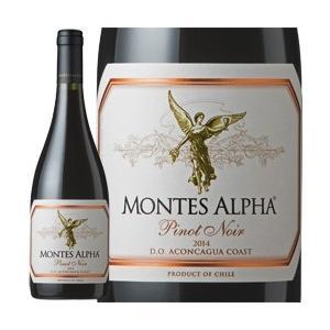 2014年 モンテス・アルファ・ピノ・ノワール / モンテス・エス・エー チリ アコンカグア・コースト / 750ml / 赤