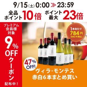 ワイン ワインセット 赤白ワインセット ヴィラ・モンテス赤白6本セット VM10-1 モンテスS.A...