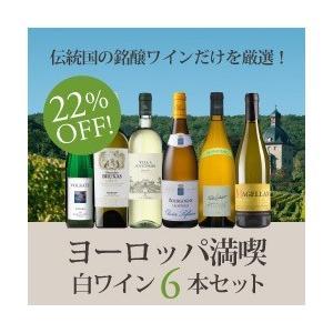 白ワインセット / 絶対に外さない白ワイン6本セット〜ヨーロッパを満喫する白ワイン〜 WW11-1 / 750ml x 6 / 送料無料