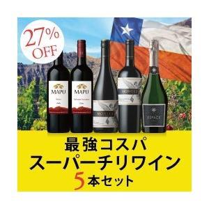 ワインセット / スーパーチリワイン5本セット / 750ml x 5 / SC12-1 / 送料無料