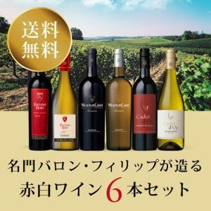 ワイン ワインセット 名門バロン・フィリップが造る赤白ワイン6本セット BP1-1 [750ml x 6]