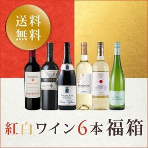 ワイン ワインセット 紅白ワイン6本福箱 NN1-1 [750ml x 6] 送料無料