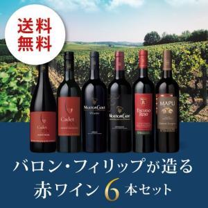 ワイン ワインセット バロン・フィリップが造る赤ワイン6本セット BP5-1 [750ml x 6]...