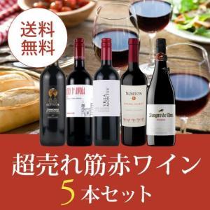 ワイン ワインセット 赤ワインセット エノテカ厳選!超売れ筋赤ワイン5本セット RC8-1 [750ml x 5]  送料無料