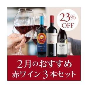 赤ワインセット / 2月のおすすめ3本セット KK2-1 /...