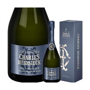 ワイン スパークリング シャンパン 発泡 シャルル・エドシック ブリュット・レゼルヴ [ボックス付]...