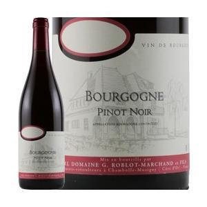 ワイン 赤ワイン 2013年 ブルゴーニュ・ルージュ / G・ロブロ・マルシャン  フランス ブルゴ...