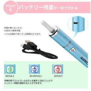 加熱式たばこ Quick3.0 電子たばこ 電子タバコカートリッジ 連続10本吸引 850mahバッテリー コンパクト アイコス 新型|enrich|06
