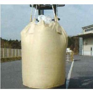 10枚入1Tフレコンバック 丸型反転ベルト付 紫外線劣化防止材入 コンテナバック トン袋  トンバック|ensin