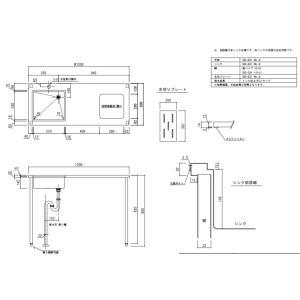配送無料ステンレスミニキッチンW1200×D500×H850mm METALLIOメタリオ MA-1200洗練されたスタイリッシュなフォルムで、デザイン重視のリノベーション物件に最適|ensin|03