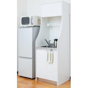 ■加熱機器、水栓金具とタオルハンガー別売 ■仕様 ウレタン化粧パーチクルボード(白)、 SUS430...