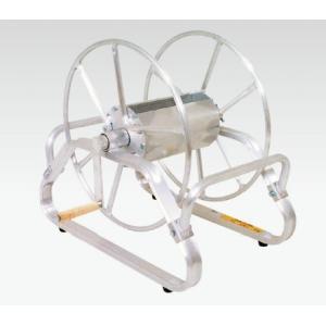 アルミ製ホース巻取機φ8.5×100m巻用(床置き型)RMA-3B|ensin