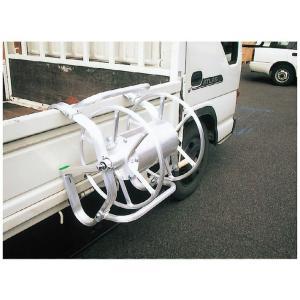 アルミ製ホース巻取機φ8.5×100m巻用(トラック取付型)RMA-6B|ensin