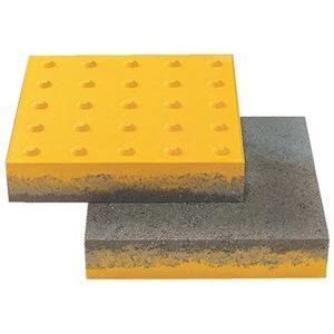 点字ブロックコンクリート製300×300×60mm 厚型SM300-JB-60|ensin