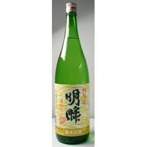 【愛知の地酒】「明眸 純米酒」1800ml|ensyuya