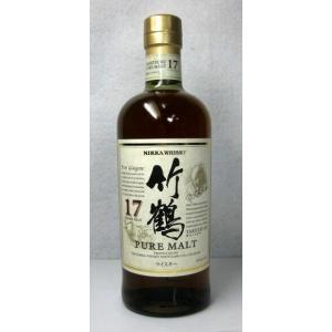 【国産ウイスキー】「ニッカ 竹鶴 17年 ピュアモルト」 700ml|ensyuya