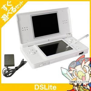 DSLite 本体 ホワイト 中古 充電器&タッチペン付き すぐ遊べるセット|entameoukoku