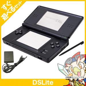 DSLite 本体 ブラック 中古 充電器&タッチペン付き すぐ遊べるセット|entameoukoku