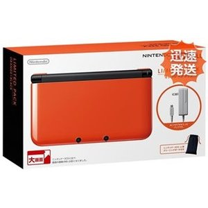 3DS ニンテンドー3DS LL リミテッドパック オレンジ...
