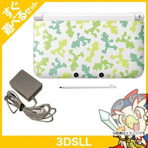 3DSLL ニンテンドー3DS LL ルイージ30周年 パック 本体 完品 Nintendo 任天堂 ニンテンドー 中古 送料無料 entameoukoku