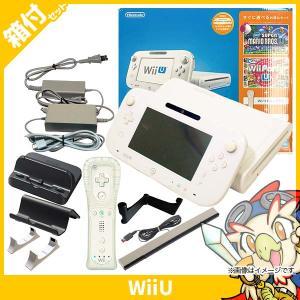 WiiU すぐに遊べるファミリープレミアムセット(シロ) 本体 完品 Nintendo 任天堂 ニンテンドー 中古|entameoukoku