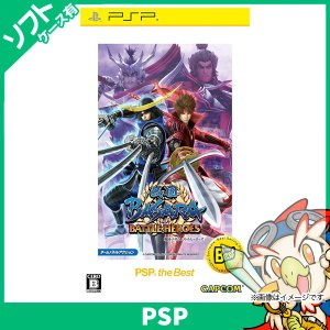 PSP 戦国BASARA バトルヒーローズ PSP the Best 中古