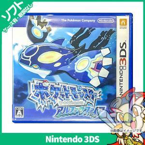 3DS ポケットモンスター アルファサファイア(通常版) ポケモン ソフト ケースあり ニンテンドー...