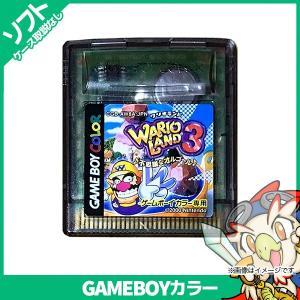 GBC ワリオランド3 不思議なオルゴール♪ ソフトのみ ケース取説ジャケット等付属品なし GameBoyColor ゲームボーイカラー 中古|entameoukoku