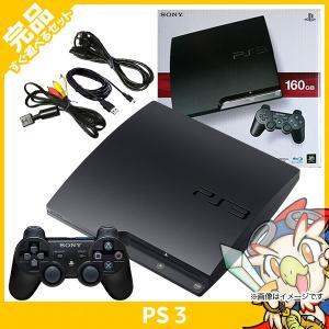 PS3 プレステ3 PlayStation 3 (160GB) チャコール・ブラック (CECH-3...
