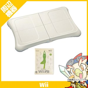 Wiiフィット WiiFit バランスボード ソフト付きすぐ遊べるセット 中古 送料無料
