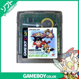 GBC メダロット4 カブトバージョン KABUTO ソフトのみ 箱取説なし カートリッジ ゲームボーイカラー GameBoyColor レトロゲーム 中古|entameoukoku
