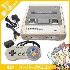 スーパーファミコン 本体 良品 スーファミ SFC 本体 すぐ遊べるセット Nintendo 任天堂 ニンテンドー 中古 送料無料|entameoukoku