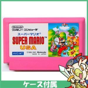 FC スーパーマリオUSA ソフト ケースあり Nintendo 任天堂 ニンテンドー 中古 送料無料|entameoukoku