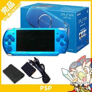 PSP バリューパック バイラント・ブルー (PSPJ-30024) 本体 完品 PlayStati...