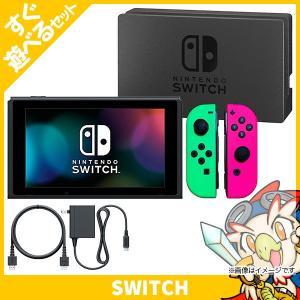 Switch ニンテンドースイッチ スプラトゥーン2セット スプラトゥーン2 本体 すぐ遊べるセット Nintendo 任天堂 ニンテンドー 中古 送料無料|entameoukoku