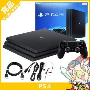 PS4 Pro ジェット・ブラック 1TB (CUH-7000BB01) 本体 完品 PlaySta...