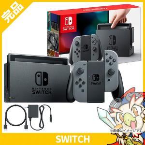 スイッチ Nintendo Switch Joy-Con (L) / (R) グレー 本体 完品 中古 送料無料|entameoukoku