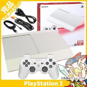 PS3 クラシック・ホワイト PlayStation 3 250GB CECH-4000B LW 本体 中古 送料無料|entameoukoku