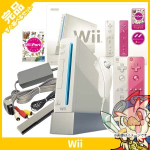 wii Wii本体 シロ Wiiリモコンプラス Wiiパーティ同梱 中古 送料無料|entameoukoku