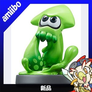 アミーボ amiibo イカ スプラトゥーンシリーズ WiiU 新品同様|entameoukoku