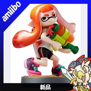 アミーボ amiibo ガール スプラトゥーンシリーズ WiiU 新品同様|entameoukoku