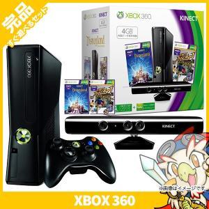 XBOX360 Xbox360 GB + Kinect 本体 中古|entameoukoku