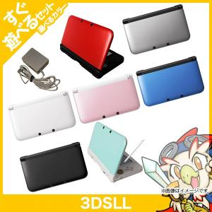 3DSLL 本体 ニンテンドー3DS LL 中古 すぐ遊べるセット 選べる7色 任天堂 中古 送料無料|entameoukoku