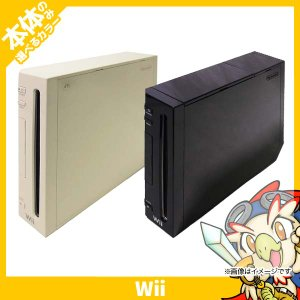 Wii 本体のみ 選べる 2色 ウィー シロ クロ 白 黒 ニンテンドー 任天堂 Nintendo 中古|entameoukoku