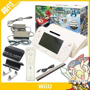 Wii U ウィーユー マリオカート8 セット 本体 シロ 白 ニンテンドー 任天堂 Nintendo 中古 付属品完品 送料無料 entameoukoku